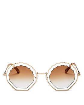 Chloé - Women's Tally Octagonal Sunglasses, 53mm