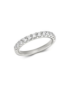 Bloomingdale's - Diamond Classic 12-Stone Band in 14K White Gold, 0.75 ct. t.w. - 100% Exclusive