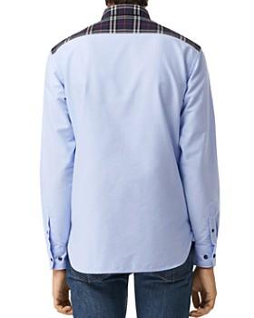 0c97e2ed3a36 ... Burberry - Edward Patchwork Regular Fit Shirt
