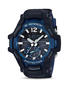 G-Shock - Gravitymaster Aviation Blue & Black Smartwatch, 53.8mm