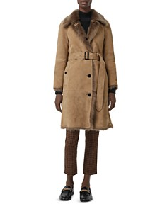 Burberry - Thetsford Shearling Coat
