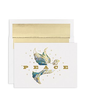 Masterpiece - Studios Elegant Dove Holiday Cards, Box of 16