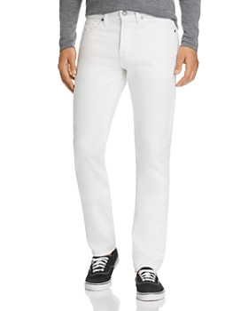 7 For All Mankind - Adrien Slim Fit Jeans in White