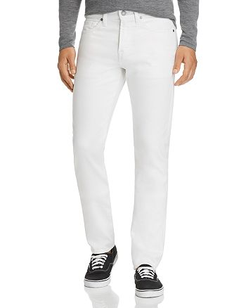 7 For All Mankind - Adrien Tapered Fit Jeans in White