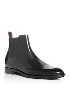 HUGO - Men's Allure Leather Chelsea Boots