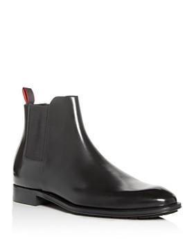 HUGO - Men's Allure Leather Chelsea Boots