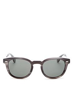 Oliver Peoples - Men's Sheldrake Polarized Round Sunglasses, 47mm