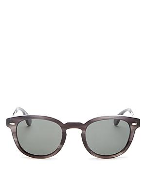 260d1e042d Oliver Peoples Men s Sheldrake Polarized Round Sunglasses