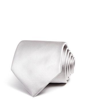 Emporio Armani Solid Classic Tie
