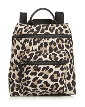 kate spade new york - That's The Spirit Leopard Print Convertible Backpack