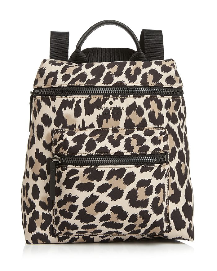 c414066c407e kate spade new york - That s The Spirit Leopard Print Convertible Backpack