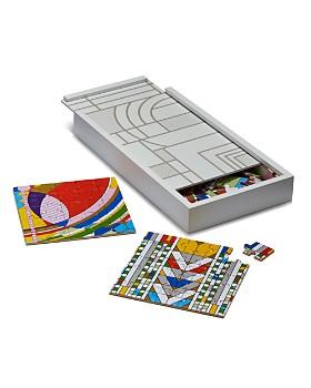 Chronicle Books - Wooden Frank Lloyd Wright Puzzle Set