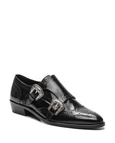 The Kooples - Women's Derby Patent Leather Loafers