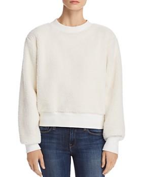 rag & bone/JEAN - Teddy Fleece Sweatshirt