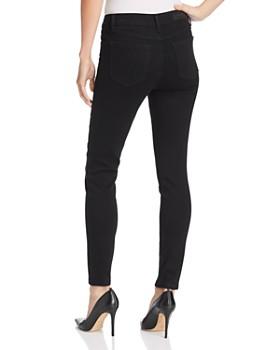 Kenneth Cole - Moto Skinny Jeans in Black