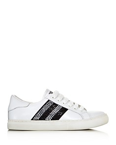 MARC JACOBS - Women's Empire Strass Low Top Sneakers