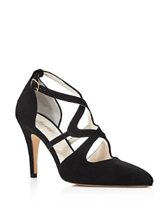 Bettye Muller - Women's Gallant Closed Toe Strappy Pumps