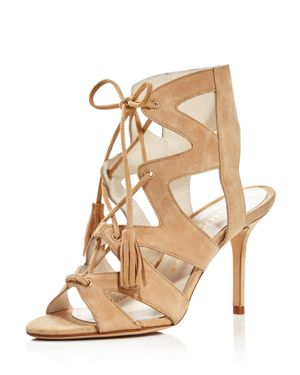 BETTYE MULLER Women'S Swell Gladiator High-Heel Sandals in Beige