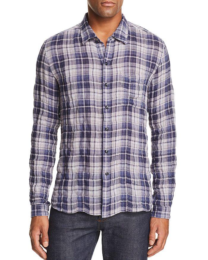 John Varvatos Star USA - Plaid Reversible Regular Fit Shirt