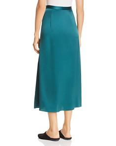 Eileen Fisher - Silk Godet Midi Skirt