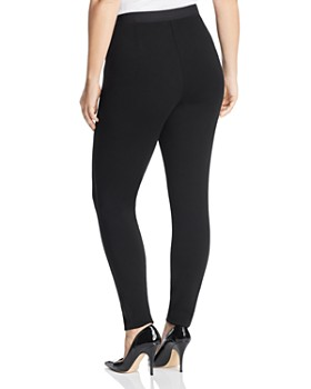 Eileen Fisher Plus - Piped-Trim Leggings