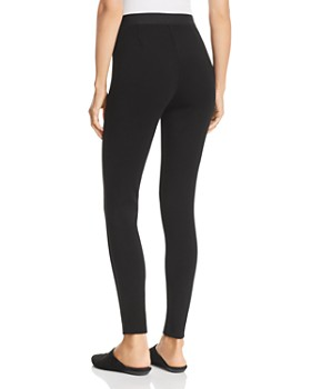 Eileen Fisher - Piped-Trim Leggings