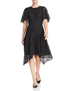 Donna Karan - Lace Flutter Dress
