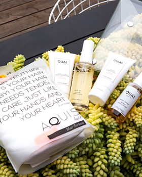 Ouai - Ouai x Aquis Hair Care Gift Set ($98 value)