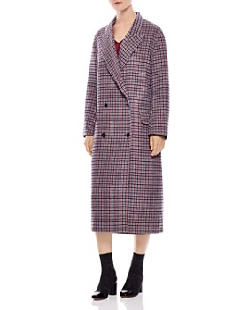 Sandro - George Plaid Coat