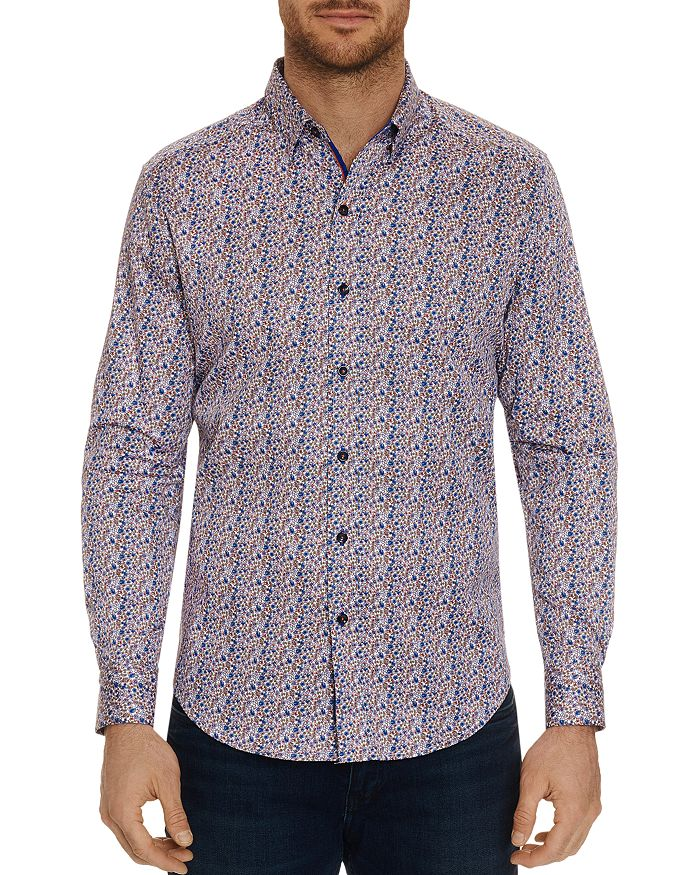 Robert Graham - Cardin Floral Classic Fit Button-Down Shirt