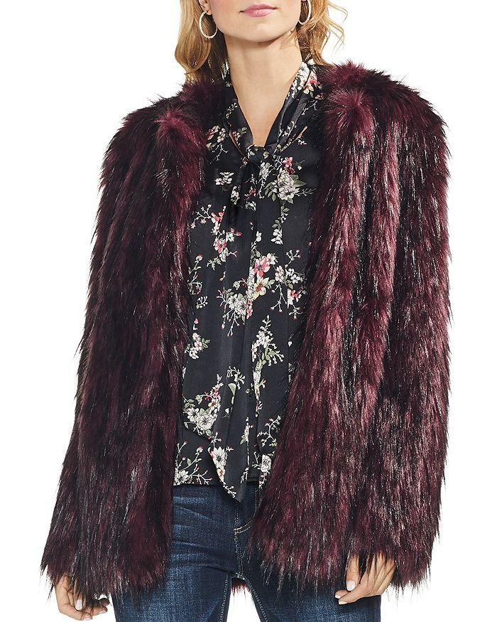 VINCE CAMUTO - Faux Fur Jacket