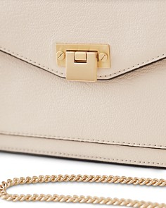 REISS - Coleville Small Leather Crossbody