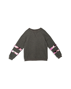 Hudson Girls Ariel Sequined Sweatshirt  Little Kid