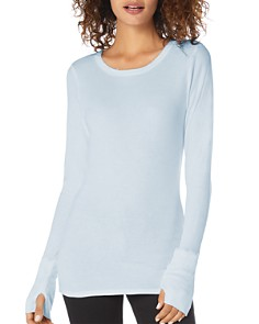 Michael Stars - Long-Sleeve Round-Neck Top
