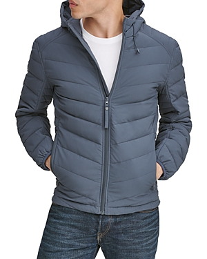 Marc New York Delavan Hooded Down Jacket