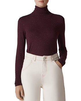 Whistles - Annie Sparkle Turtleneck Top