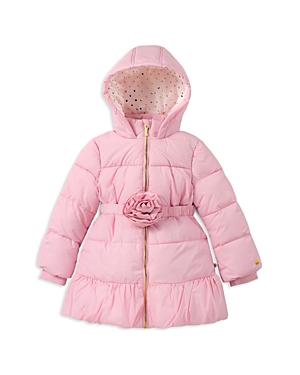 kate spade new york Girls Rosette Puffer Coat  Baby