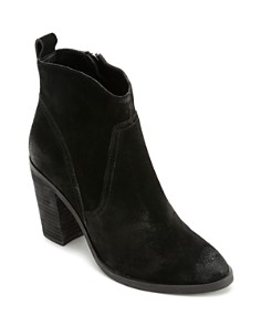 Dolce Vita - Women's Saint Suede Zip-Up Booties
