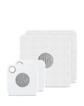 Tile - Tile Mate & Tile Slim Combo Trackers, 4-Pack