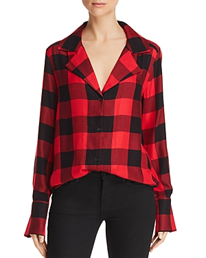 Paige Elora Plaid Shirt