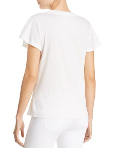 Joie - Sikoya Ruched Embelllished Tee