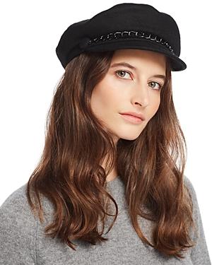 Eugenia Kim MARINA CASHMERE NEWSBOY CAP