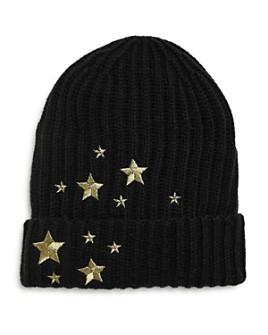 V Fraas - Girls' Embroidered Star Beanie