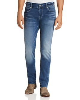 True Religion - Rocco Skinny Fit Jeans in Baseline
