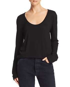 alexanderwang.t - Draped Jersey Top