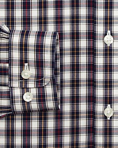 Brooks Brothers - Boys' Plaid Shirt, Big Kid - 100% Exclusive