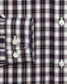 Brooks Brothers - Boys' Plaid Shirt, Big Kid - 100% Exclusive