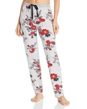 PJ SALVAGE Floral Brushed Thermal Pj Pants in Multi Pattern
