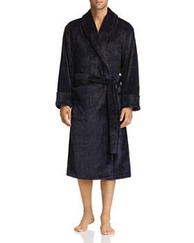 Daniel Buchler - Debossed Plaid Plush Robe