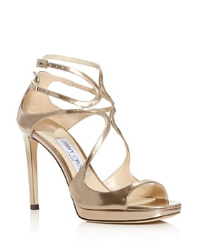 Jimmy Choo - Women's Lance 100 Strappy High-Heel Sandals